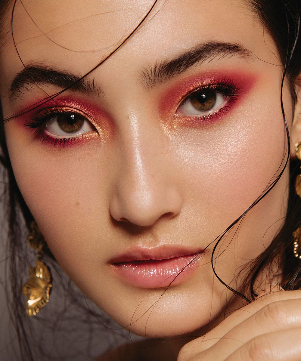 The TwoTone Eye Makeup looks, Summer party, Beauty