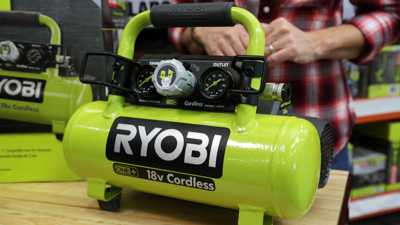 This Cordless Air Compressor Can Inflate Tires Fast