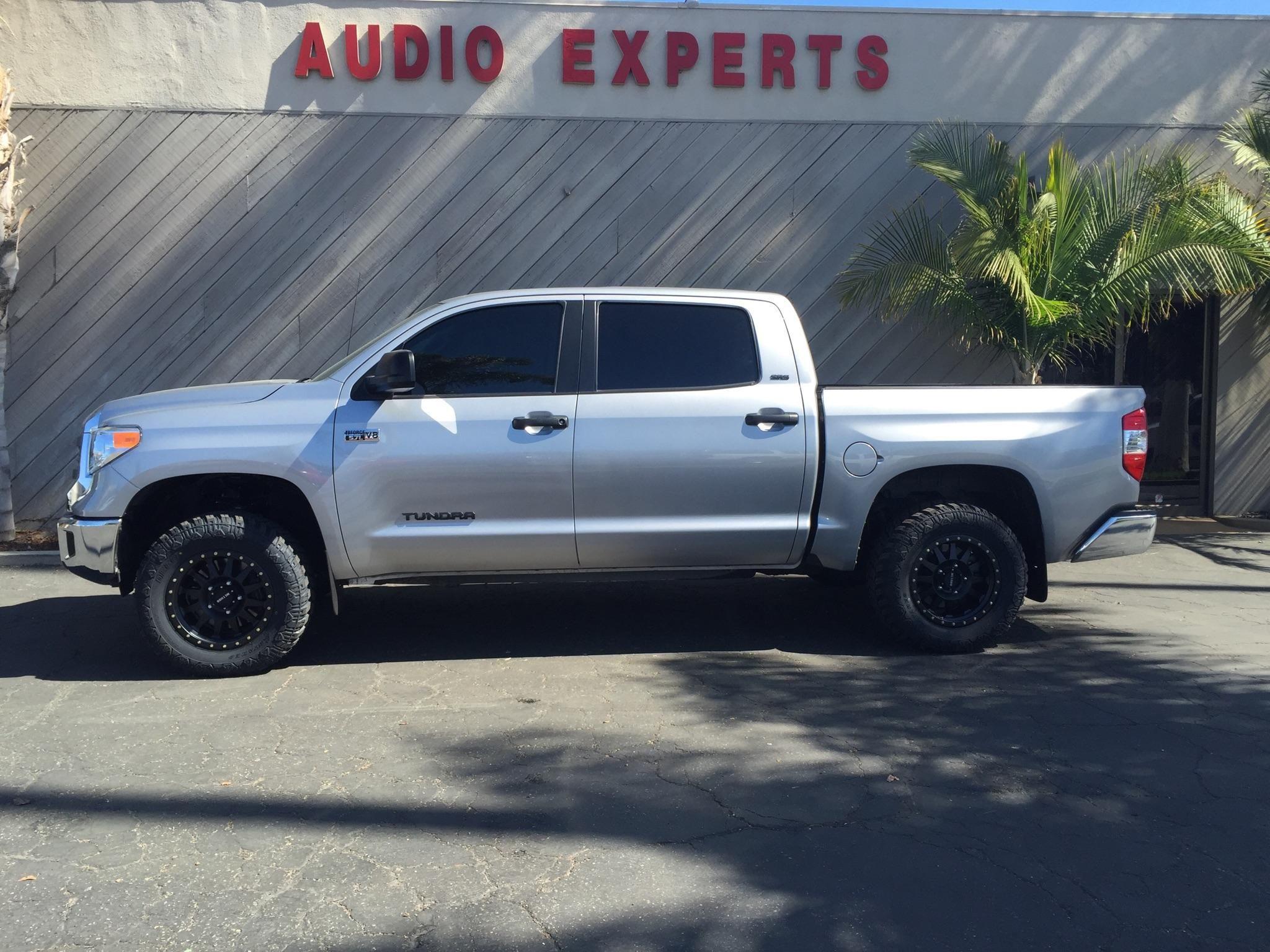 2015 Toyota Tundra Window Tint #AudioExpertsVentura #AudioExperts #AudioVideo #CarStereo #StereosVentura #Ventura #VenturaCA #VenturaCalifornia #California #CustomAudio #WindowTint #Toyota #Tundra #ToyotaTundra