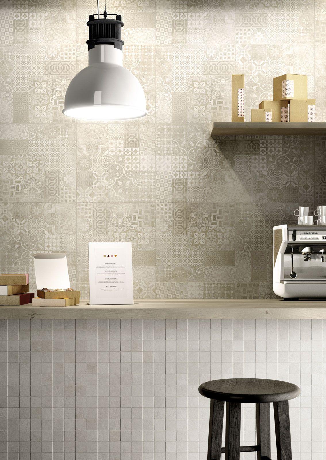 Gres Porcellanato Piastrelle Cucina plaster | marazzi | progetti di cucine, piastrelle cucina