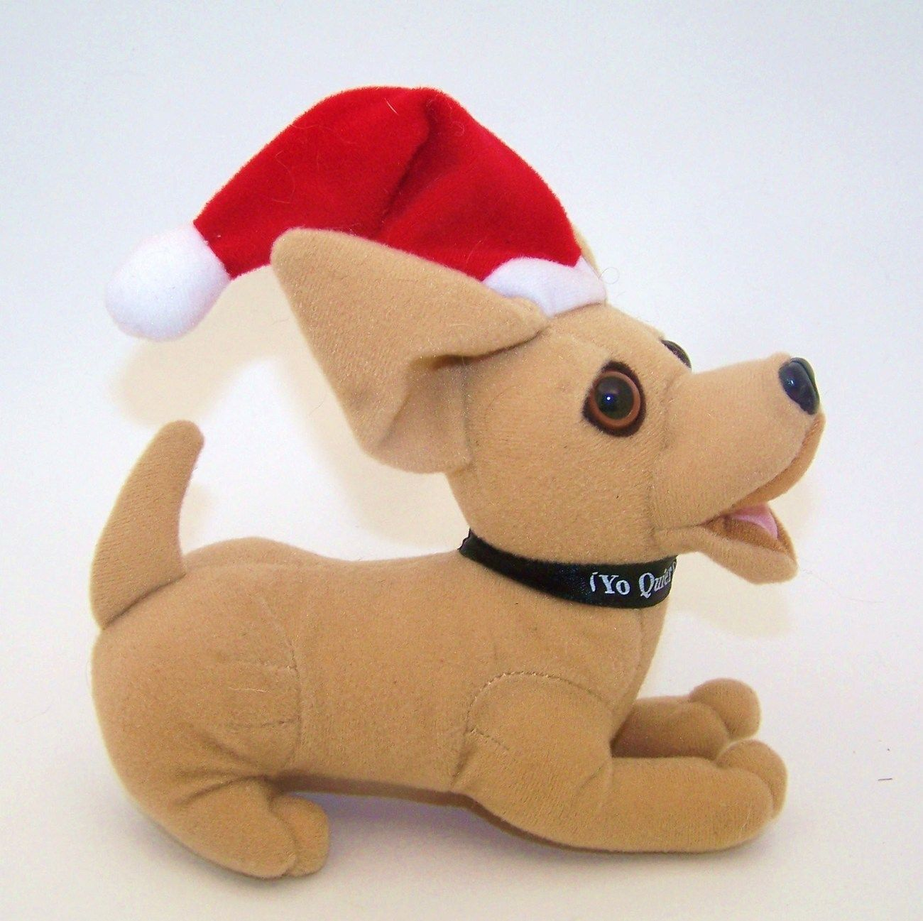 Taco Bell Chihuahua Christmas Dog Plush Stuffed Animal Chihuahuas