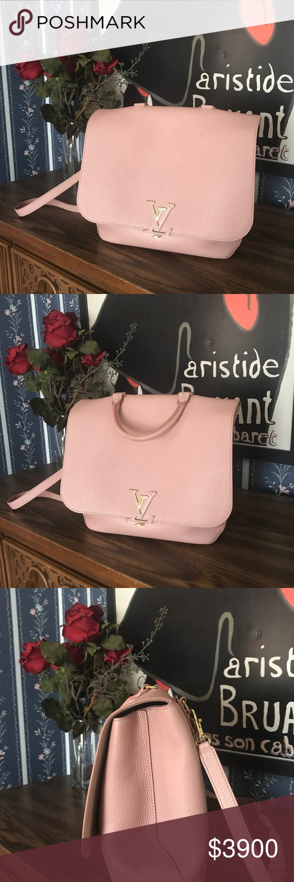 8b7ed7564bd8 Louis Vuitton VOLTA bag. A new design for sophisticates on the go  for women  who appreciate luxury but who also love the sporty allure of a classic ...