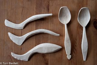 Carved Spoons: A busy morning