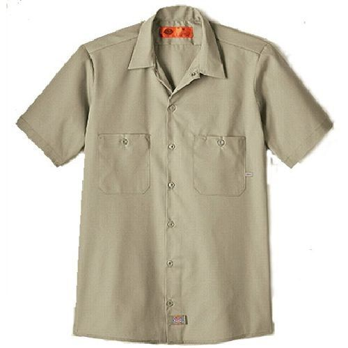 Dickies Mens Short Sleeve LS535 Work Shirt Regular Fit