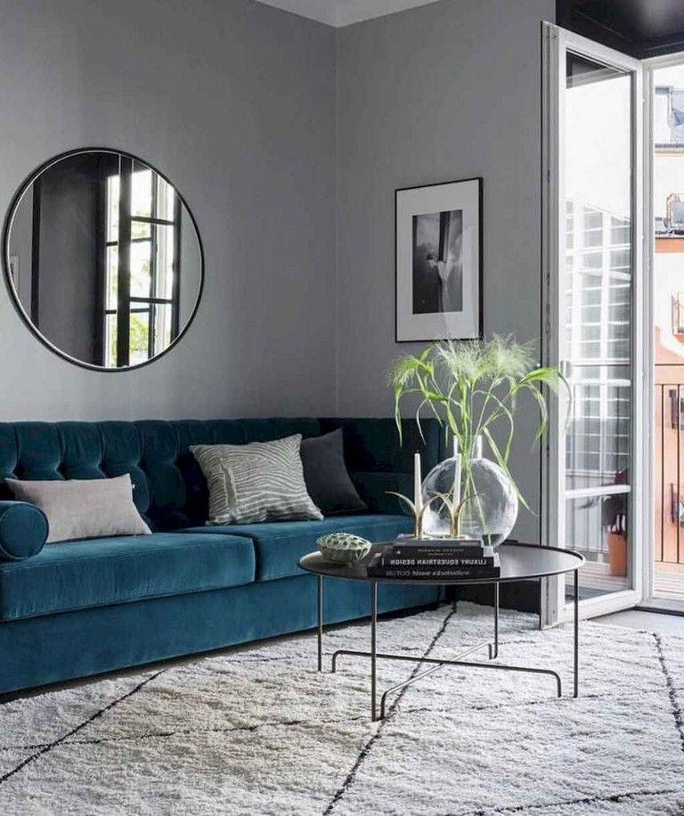 76+ Best Small Apartment Living Room Decorating Ideas on A ...