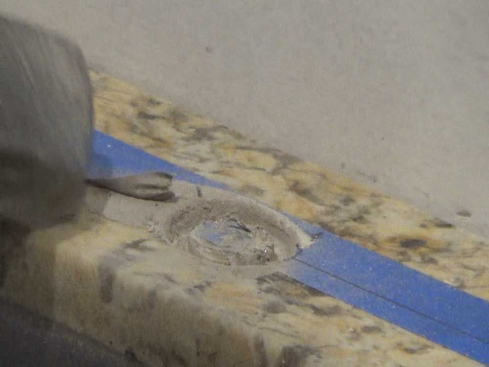 How To Drill Cut A Hole Through In Tile Small