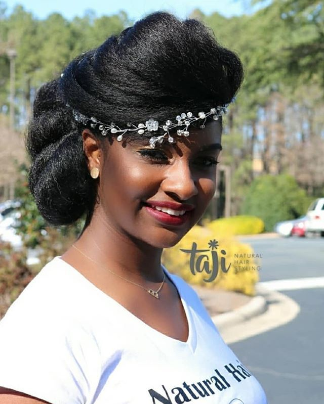 Wedding Hairstyle Hashtags: #naturalhairbride Hashtag On Instagram • Photos And Videos