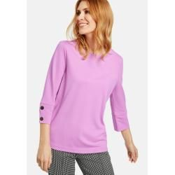 Photo of 3/4 sleeve shirt with decorative buttons Pink Gerry Weber