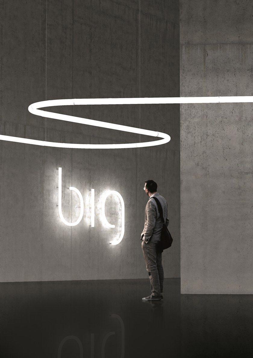 Led Direct Light Polycarbonate Pendant Lamp Alphabet Of