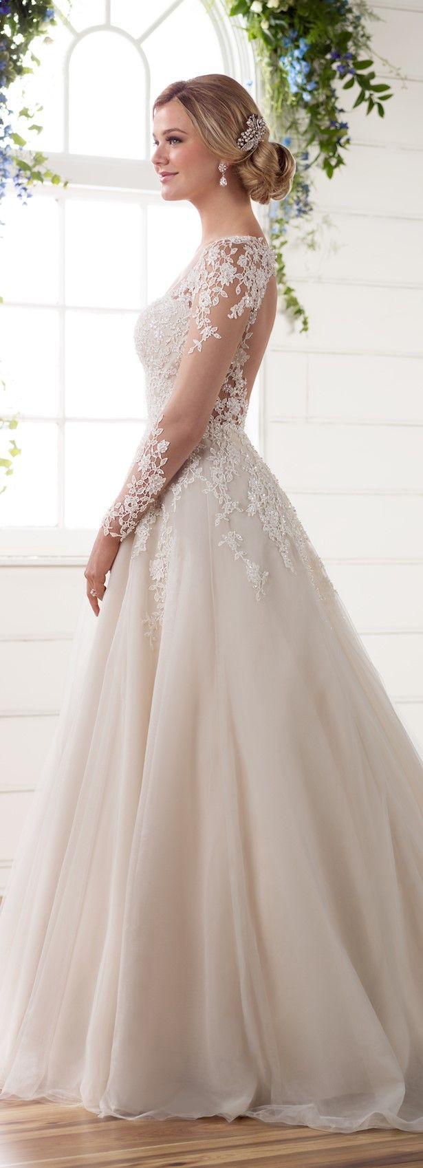 Wedding dress by essense of australia spring bridal collection