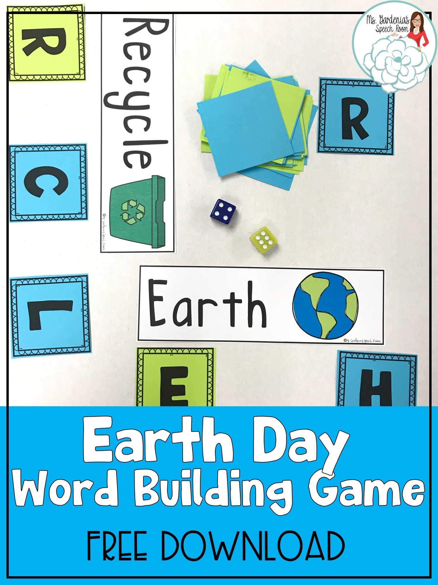 Flip to the Finish: Earth Day in 2018 | Speech Therapy: Spring ...