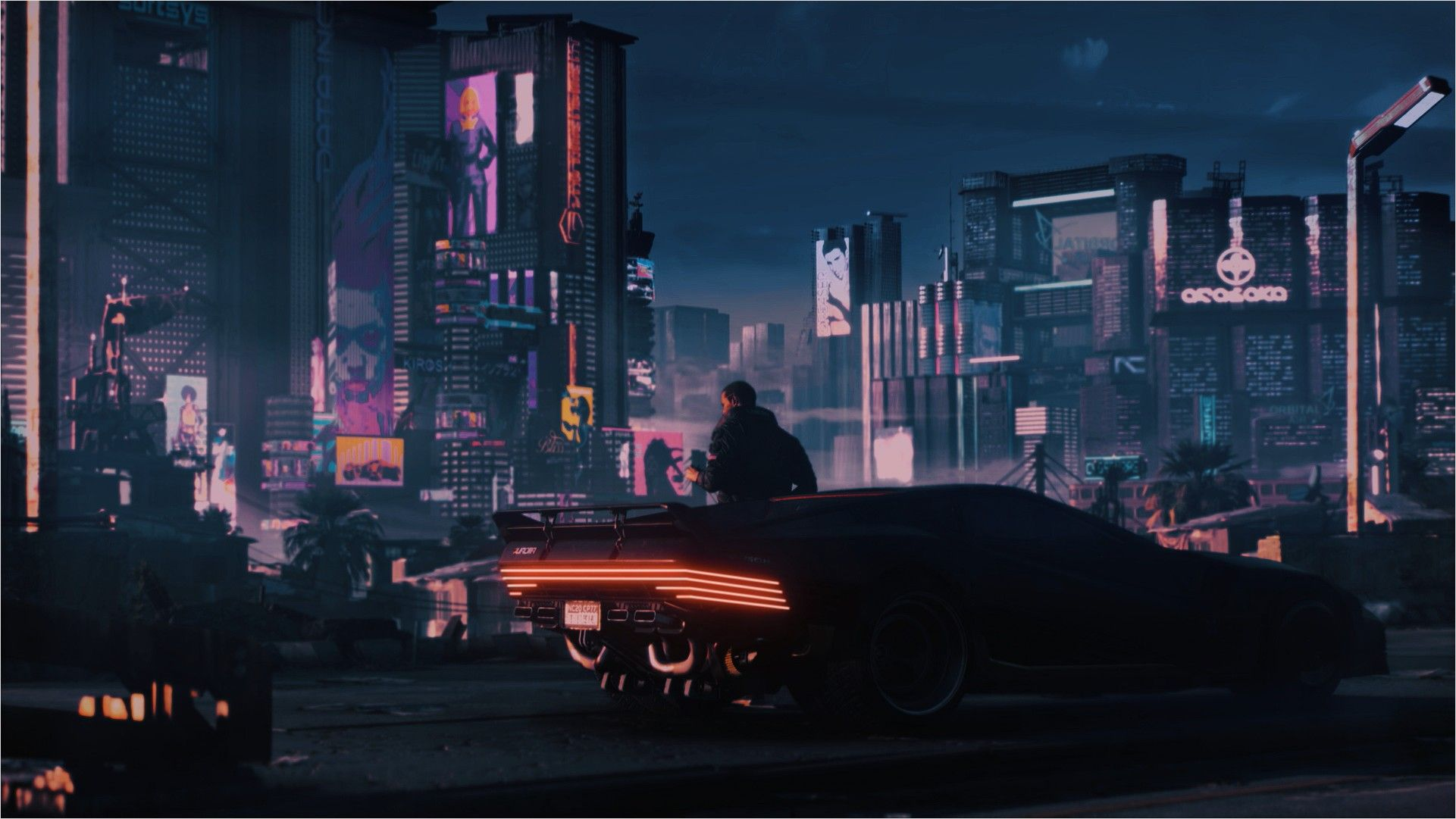 4k Cyberpunk Wallpaper Reddit In 2020 Cyberpunk 2077 Cyberpunk Beach Painting