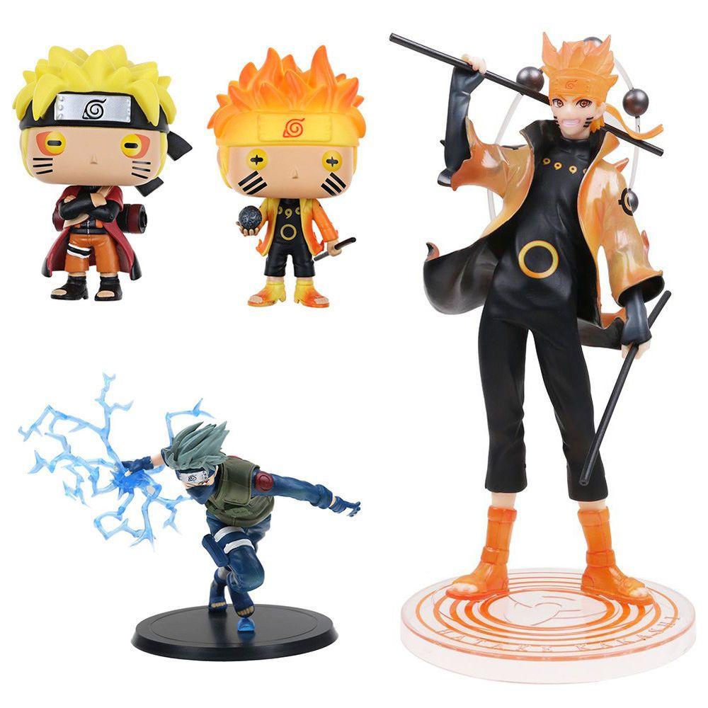 Uzumaki Naruto Six Paths Sage Figure New NO Box Naruto Shippuden G.E.M
