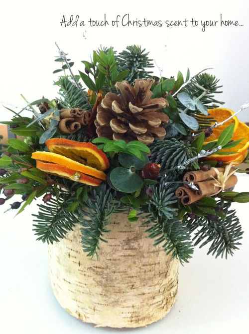 Photo of Christmas table arrangement by Philippa Craddock at the Spirit of Christmas Fair