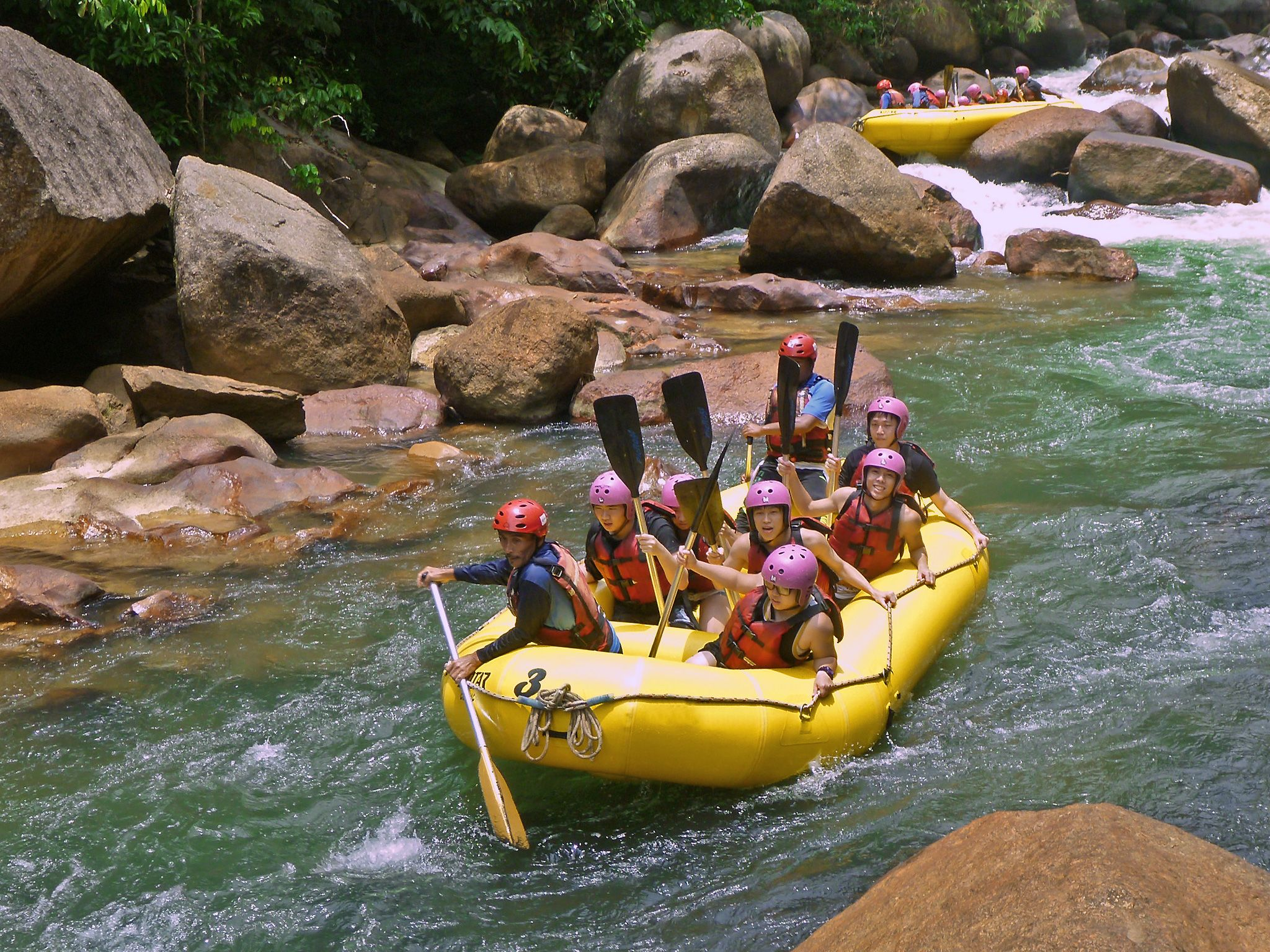 French lick whitewater rafting — img 12