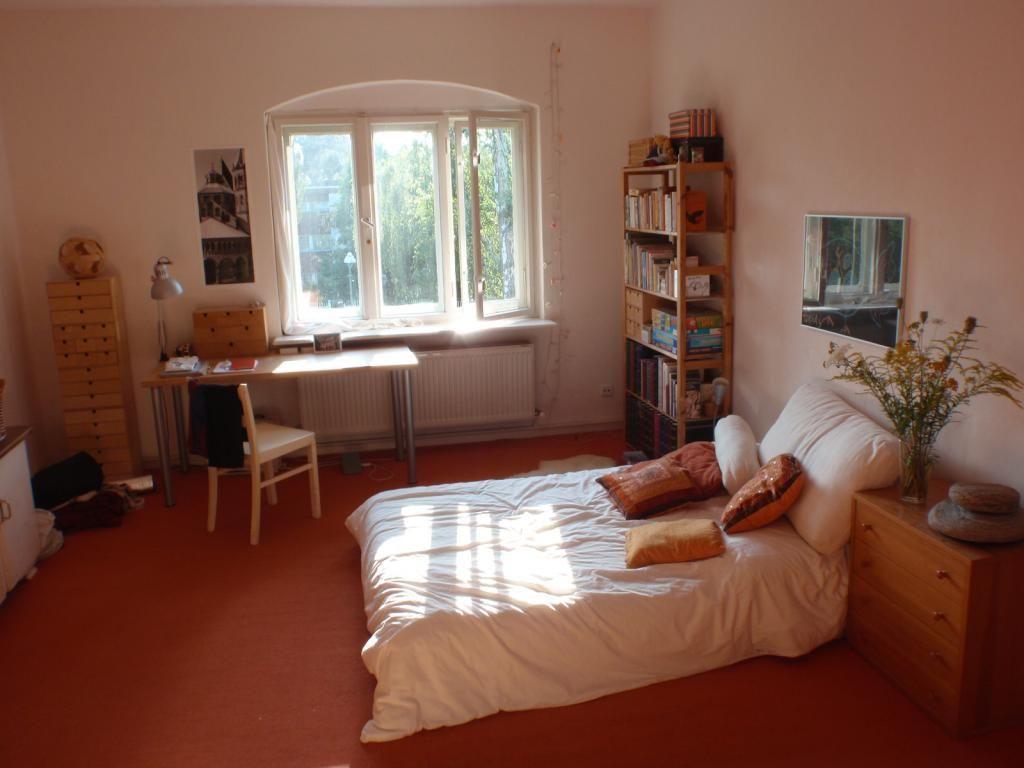 WG-Zimmer Im Warmen Farbton Eingerichtet. #WG #Zimmer
