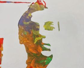 Art of Apex High School: Stencil Self Portraits