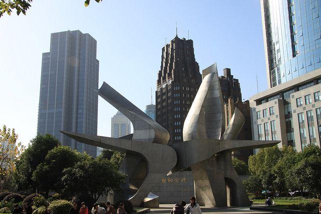 Sculpture - Shanghai by Crazyviews