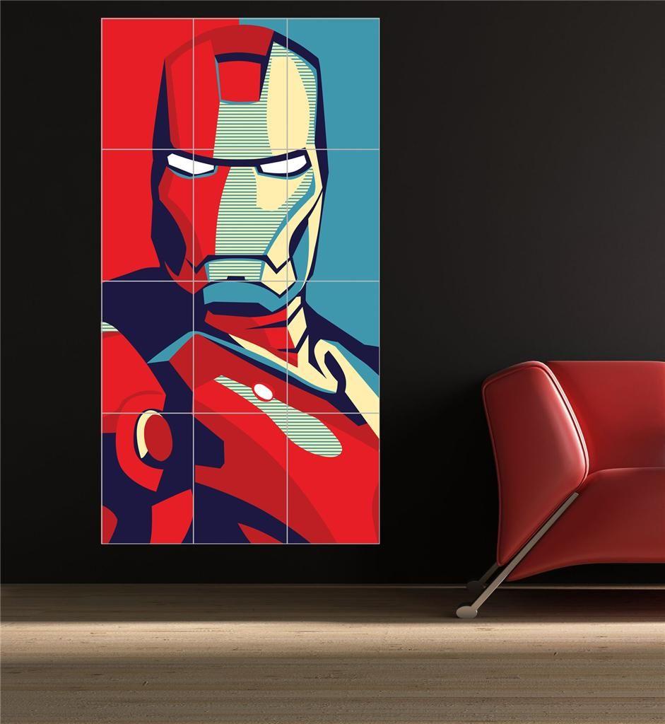 Iron Man pop art