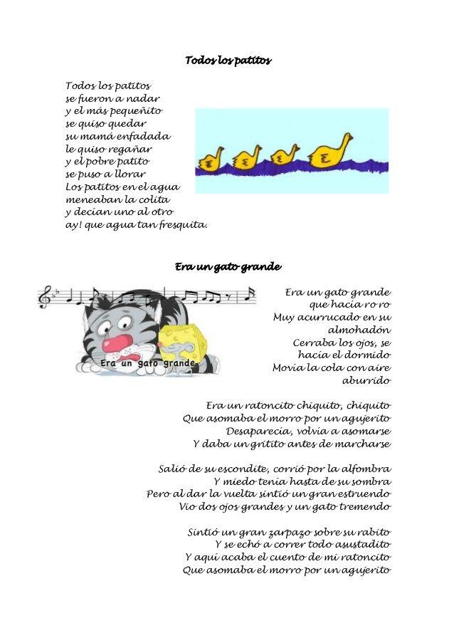Cancionero Infantil Escuela Bibichu Cancionero Infantil Letras De Canciones Infantiles Canciones Infantiles