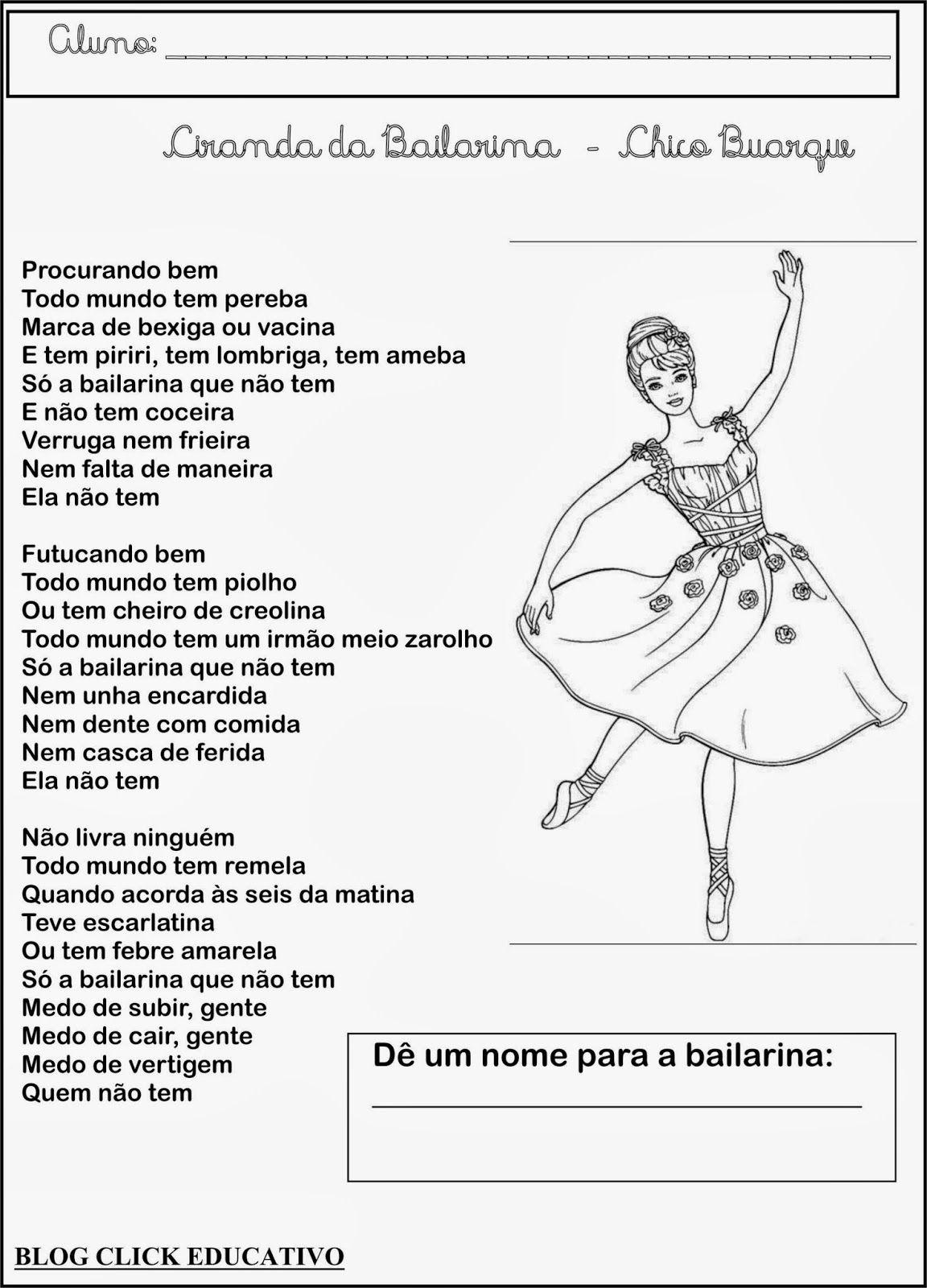 ciranda da bailarina chico buarque