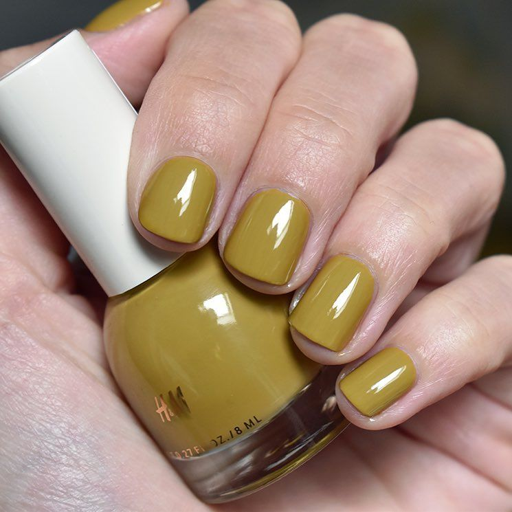 H&M in Olive Twist | Autumn nails, Beauty uk and Nail nail