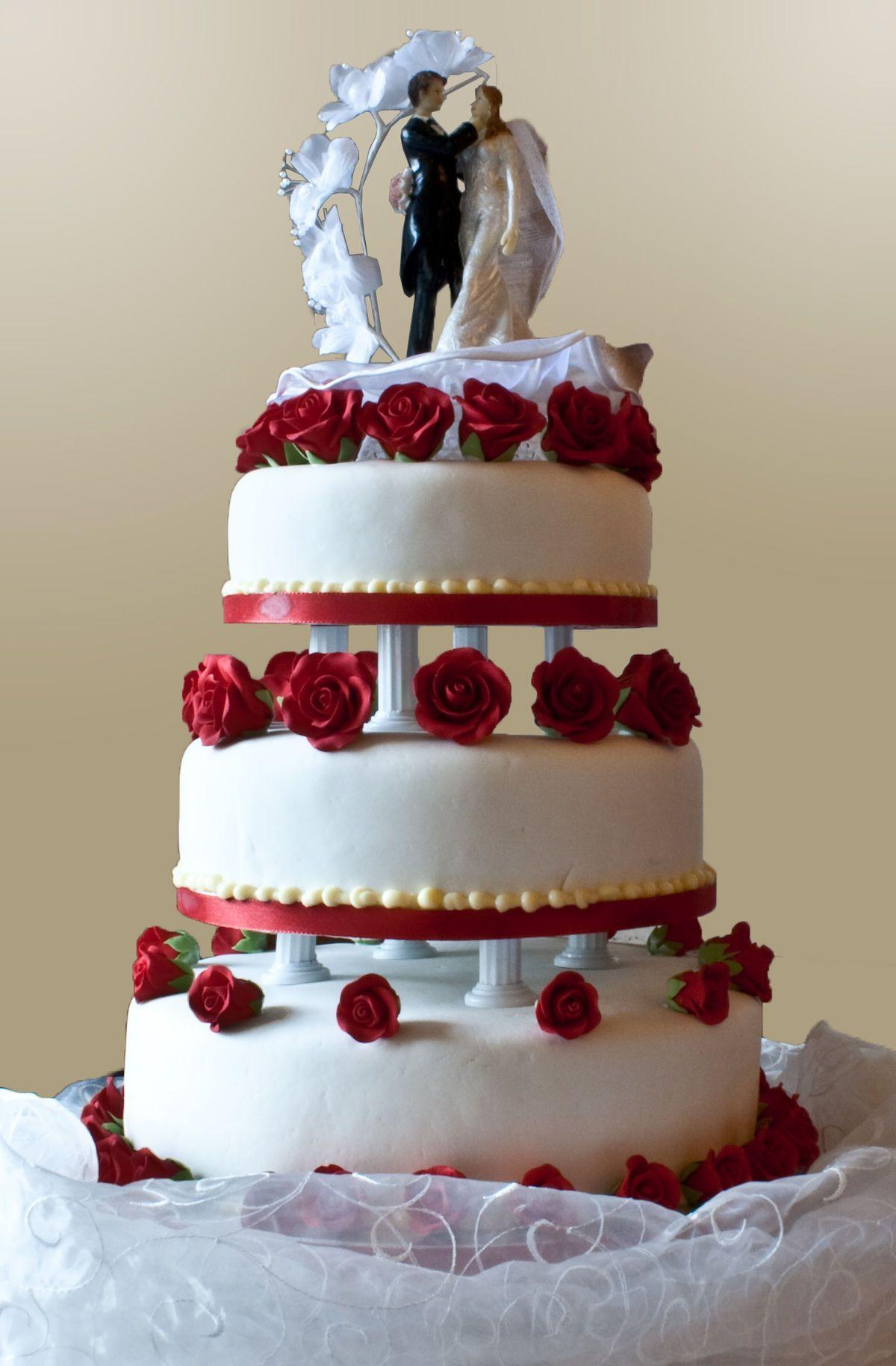 Image result for santeria wedding cake Wedding cake red