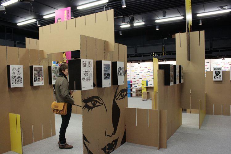 Ejemplos de dise os de cart n para exposiciones for Disenos de stand para exposiciones
