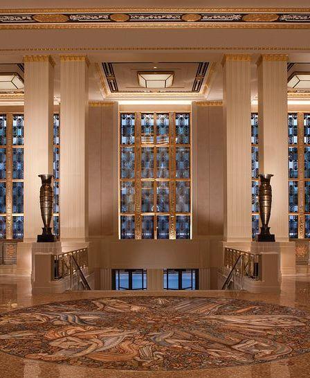 Waldorf Astoria New York New York United States Art Deco Architecture Architecture Art Deco Interior