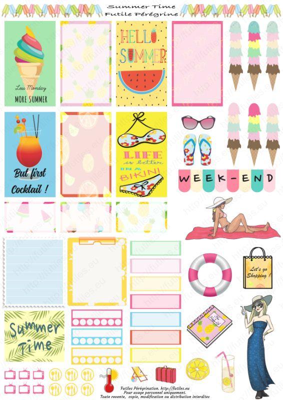Papeterie Planner fille personnalisé Planner stickers-Journal Scrapbook