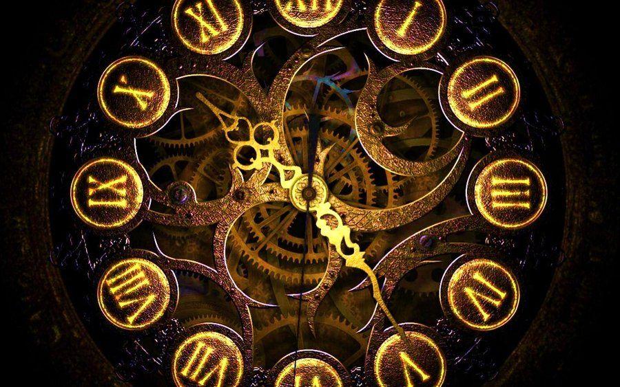 Clockwork Wallpaper Horloge Steampunk Art Steampunk Design Steampunk
