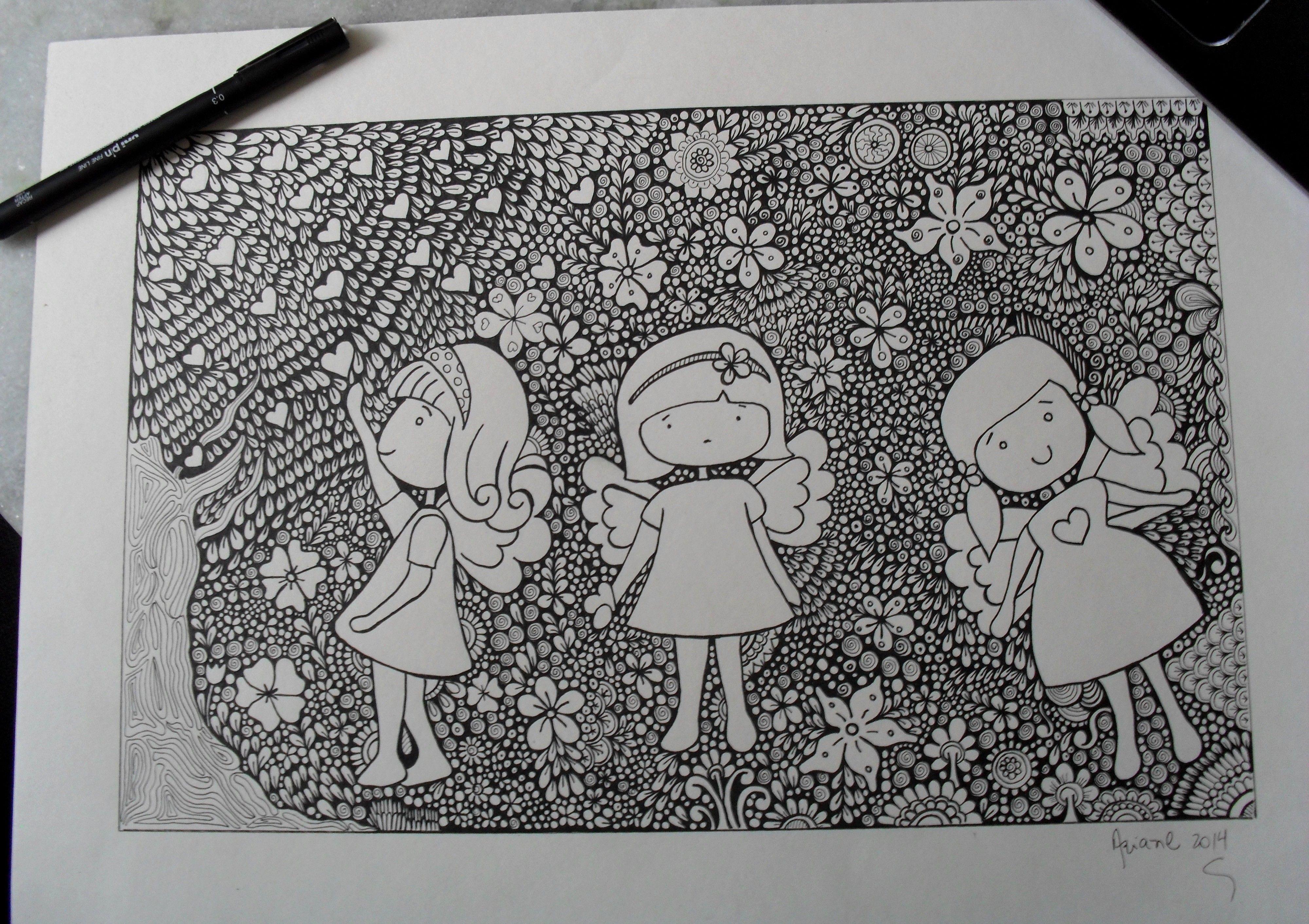 #Doodle #DoodleArt #Zentangle