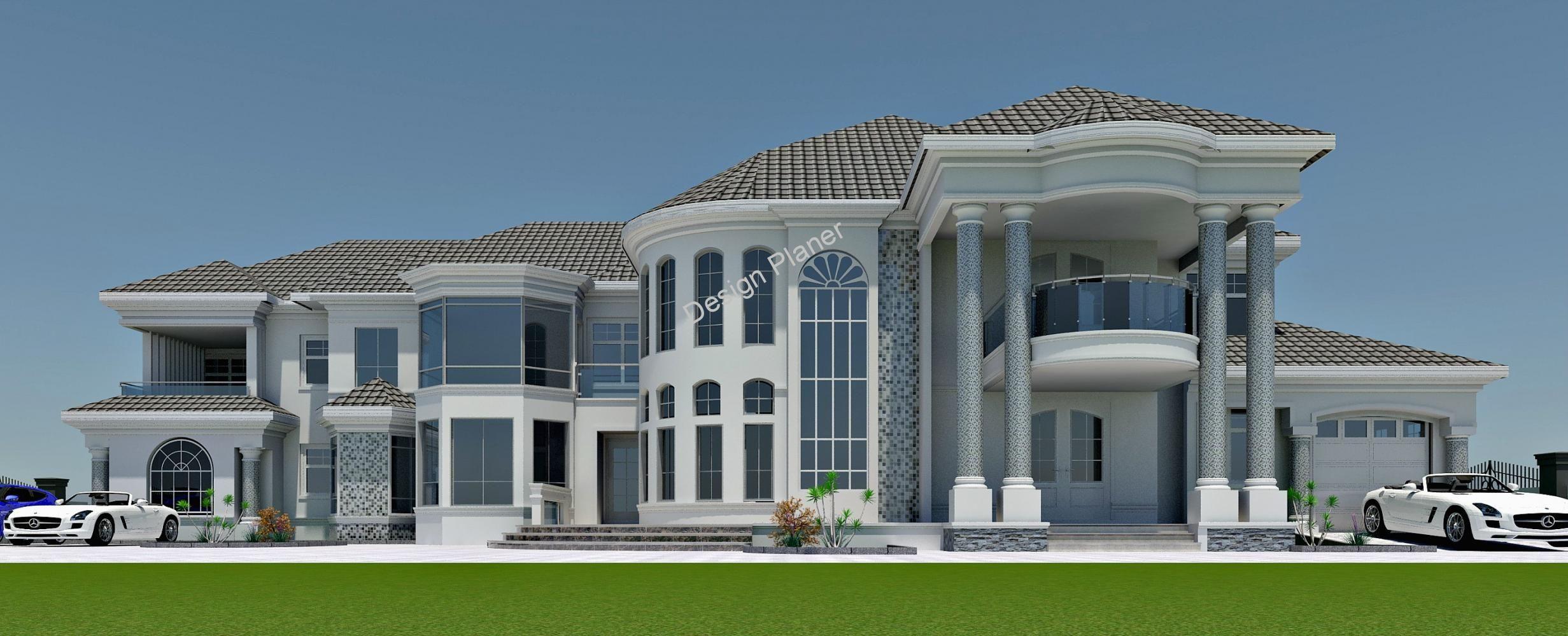 10 Bedroom House Modern Style House Plans Luxury House Floor