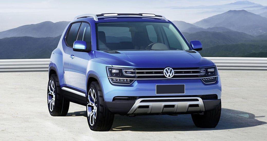 2020 Volkswagen T-Track Concept   Volkswagen, Compact suv ...