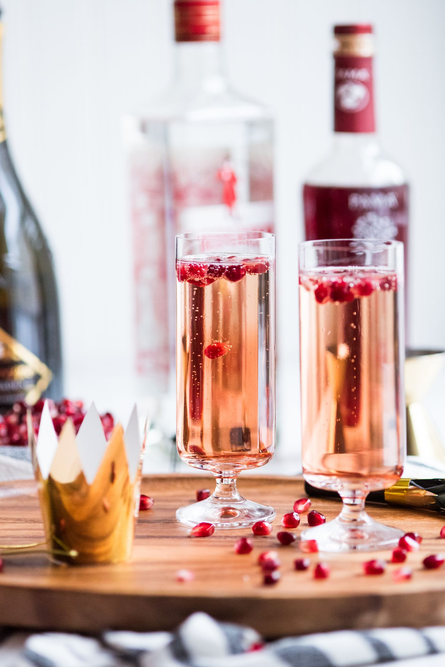 Sparkling Pomegranate French 75 | Recipe | Drinks ~ Virgin ...