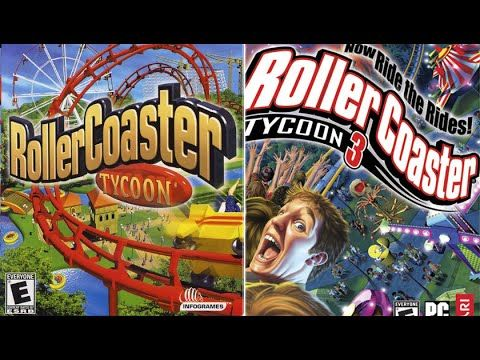 Rollercoaster Tycoon 1 & 3 | Nostalgia Games | Games, Animal games