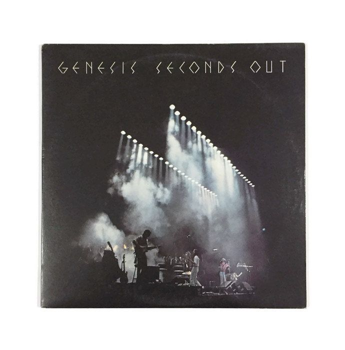 Genesis Seconds Out Vinyl Record Album Prog Lp 1970s Live Double Album Phil Collins Squonk Firth Of Fifth The Musical Box Vinyl Record Album Progressive Rock Vinyl Records