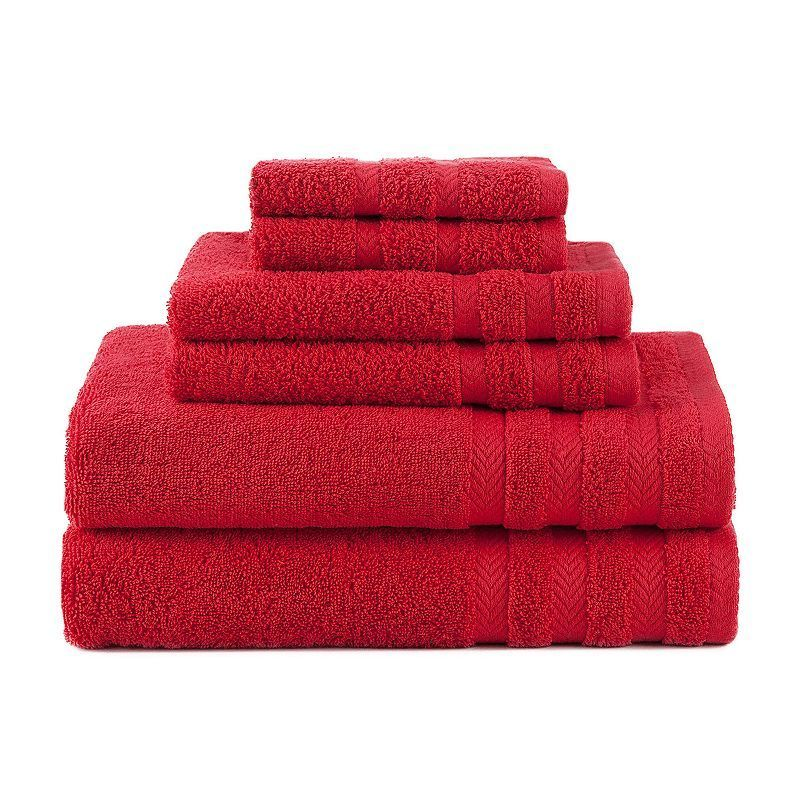 Martex 6 Piece Egyptian Cotton Towel Set Egyptian Cotton Towels