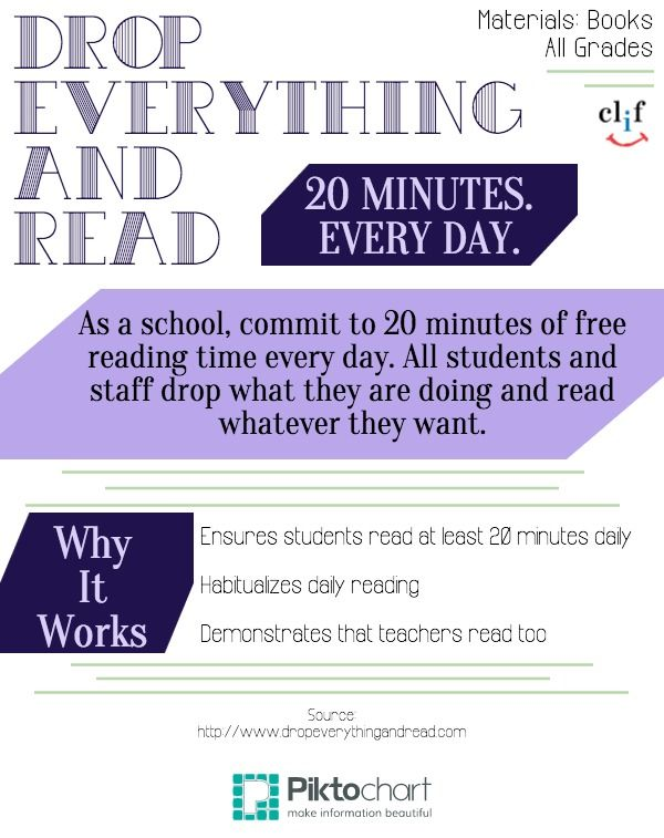 Drop Everything And Read Literacy Activities All Ages Drop