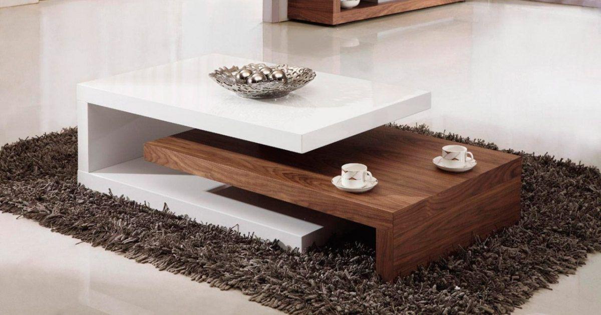 Mesas de centro modernas pinteres for Salas de madera modernas