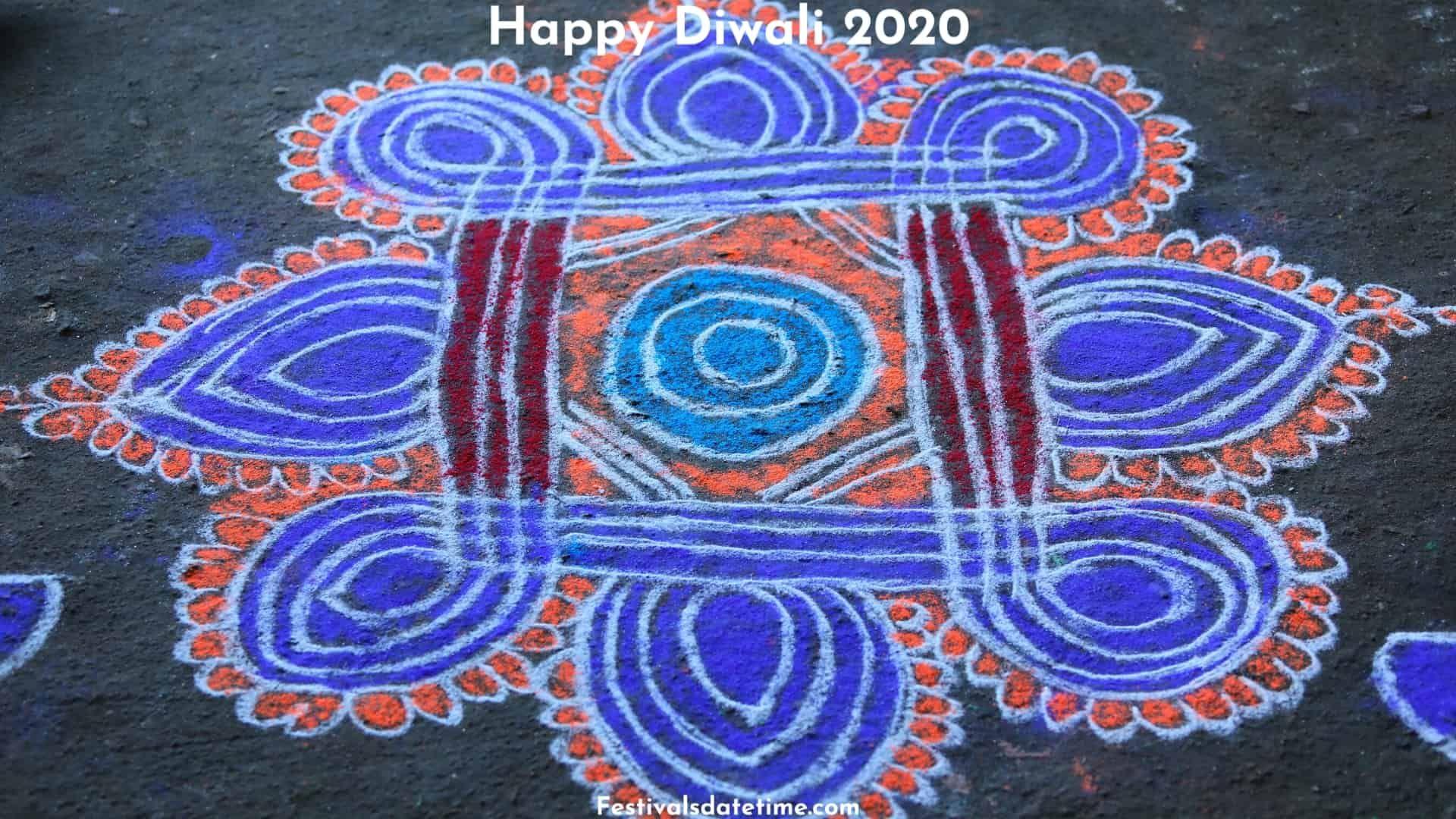 Rangoli Designs For Diwali 2020 in 2020 Rangoli designs