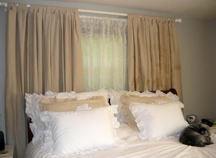 bedroom curtain ideas DECOR Pinterest Curtain ideas, Bedrooms