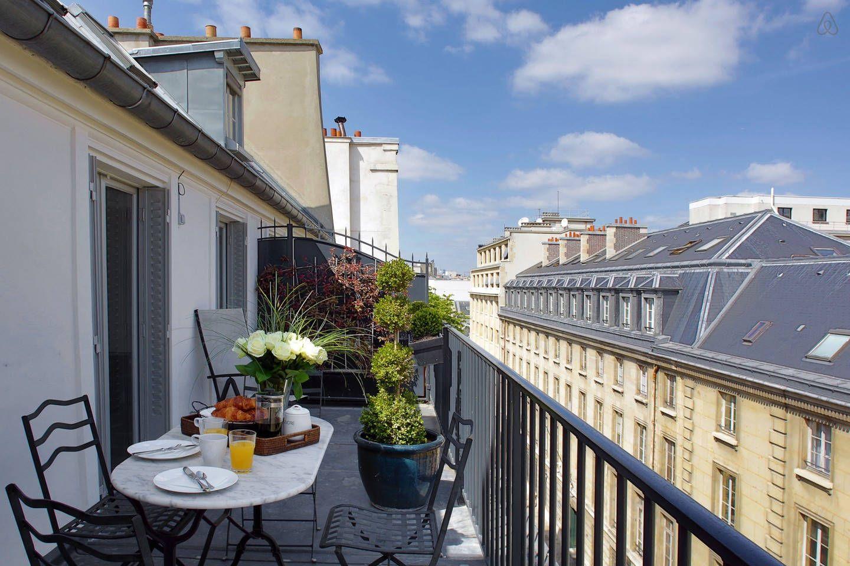 Saint-Germain 2 Bedroom with Terrace, $288/NIGHT