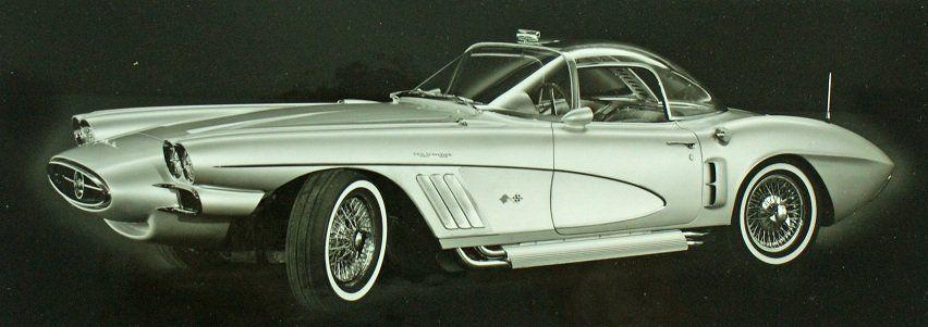 Chevrolet Corvette Xp 700 1958 Chevrolet Corvette Chevrolet Corvette