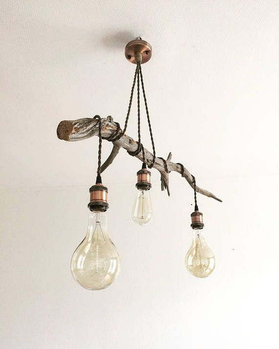 suspended wood light ceiling light scandinavian lightning vintage bulbs edison chandelier luster. Black Bedroom Furniture Sets. Home Design Ideas