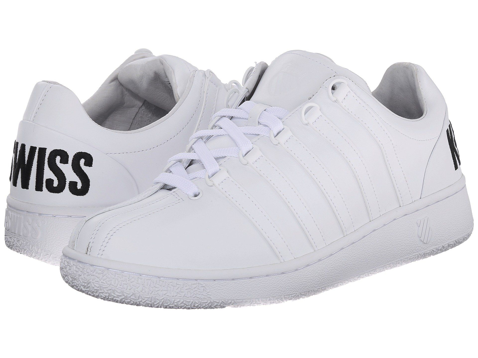 k-swiss shoes from 80 s images collar popping