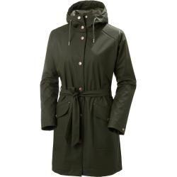 Photo of Helly Hansen Woherr Kirkwall Ii Raincoat Rain Winter Jacket Green Xl