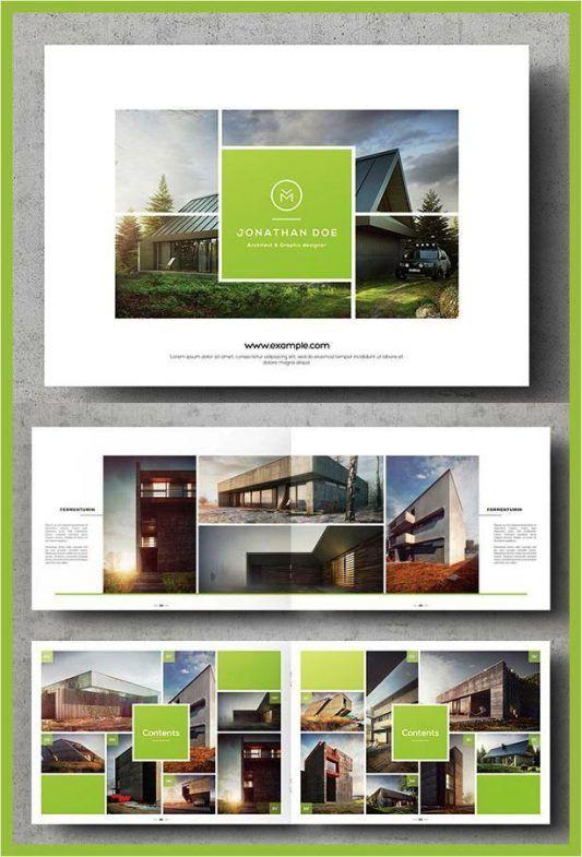 Contoh Inspirasi Desain Brosur Ide Template  Annual  Brochures