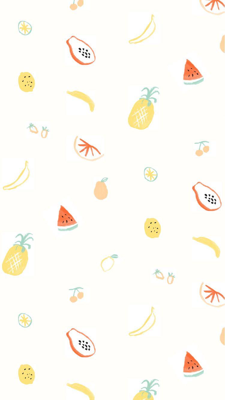 Summer Smoothie Wallpaper Wallpaper Iphone Cute Fruit Wallpaper Iphone Wallpaper