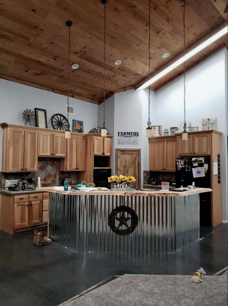35 Rustic Kitchen Cabinets Rustickitchen Kitchendesign Kitchenideas Beautiful House Armoires De Cuisine Rustiques Belle Maison Et Design De Cuisine Rustique